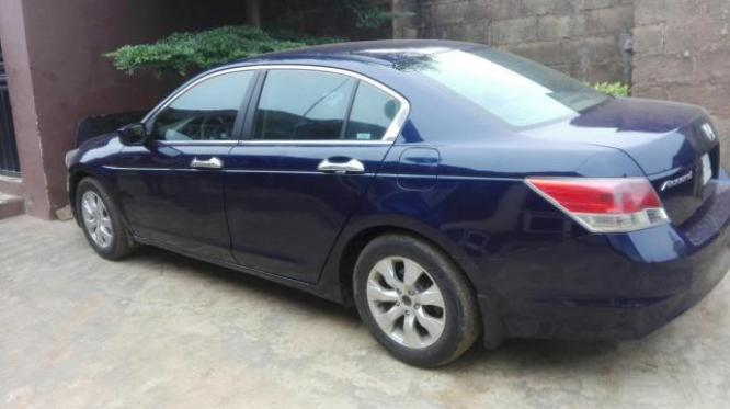 A few months used Honda accord 2010