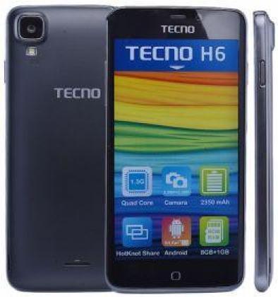 Clean black tecno H6