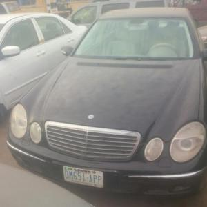 A clean mercedes c240 for sale