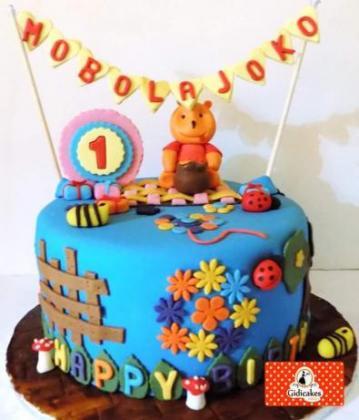 Children's Character Cakes