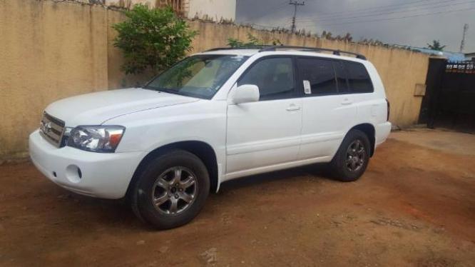 Clean 2006 Toyota Highlander Tokunbo