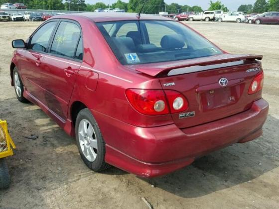 2007 TOYOTA COROLLA FOR SALE AT AUCTION PRICE CALL 08067816891