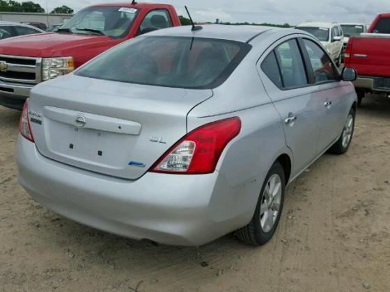 2009 NISSAN VERSA FOR SALE AT AUCTION PRICE CALL MR FELIX ON 08067816891 FOR FULL DETAILS