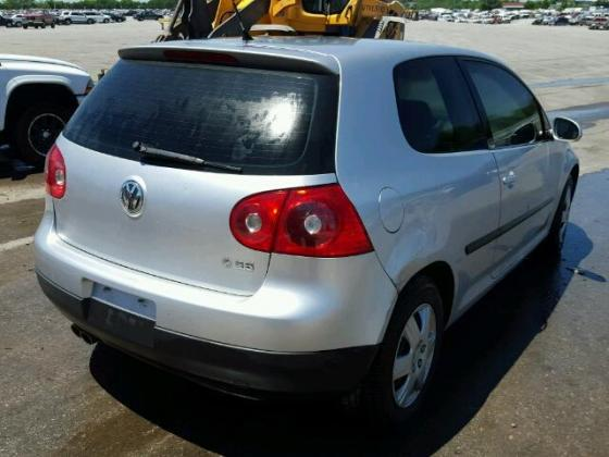 VOLKSWAGEN GOLF FOR SALE AT AUCTION PRICE CONTACT 08067816891 FOR FULL DETAILS