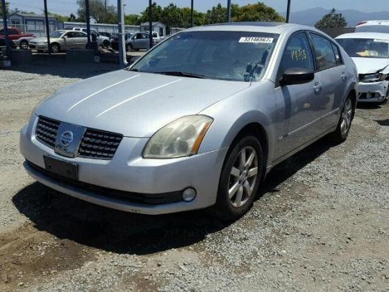 NIGERIA CUSTOMS IMPOUNDED CLEAN NISSAN MAXIMA FOR SALE