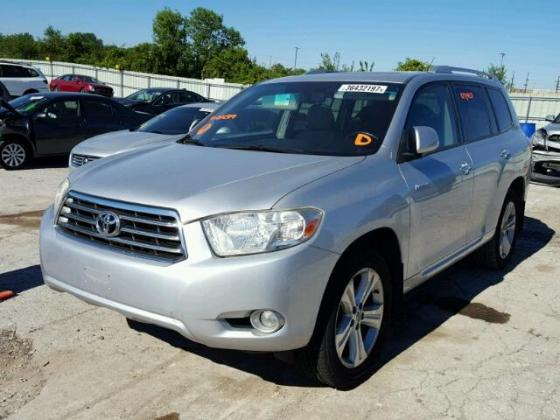 2008 Toyota Highlander for sale on auction