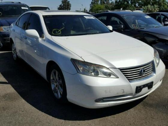 NIGERIA CUSTOMS IMPOUNDED LEXUS ES350  FOR SALE CALL 08067816891 FOR FULL DETAILS