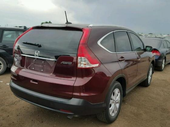 2014 HONDA CR-V JEEP  FOR SALE AT AUCTION PRICE ₦800,000