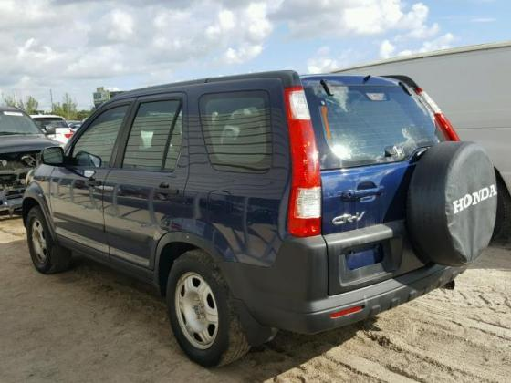 2005 HONDA CR-V JEEP FOR SALE AT AUCTION CALL 08067816891