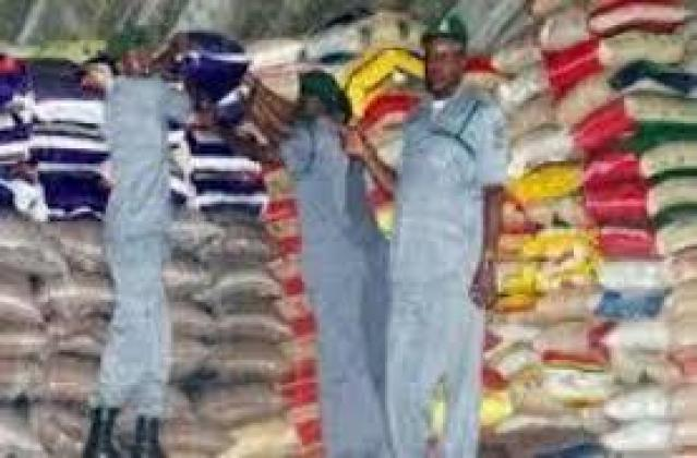 AUCTION SALE OF RICE 50KG AND 25KG AND VEGETABLE 25 LITERS