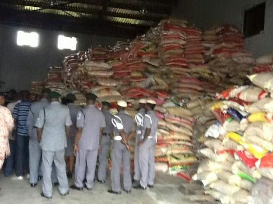 NIGERIA CUSTOM SERVICE  2019 AUCTION RICE  7,500 PER BAG 50KG, CALL 09062357390