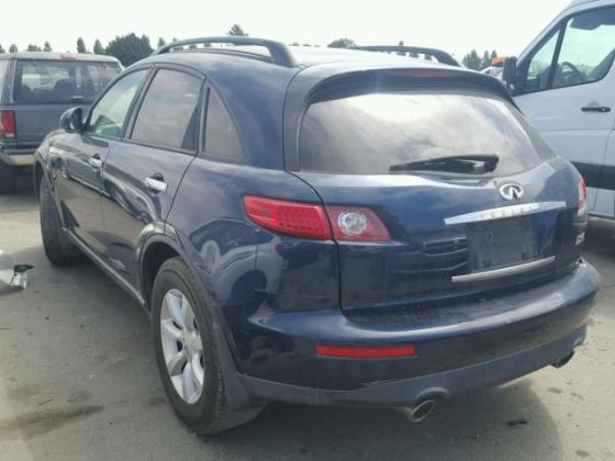 CLEAN 2005 INFINITI FX-35 FOR SALE AT FULL OPTION CALL 08067816891