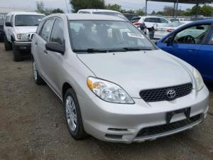 2003 TOYOTA MATRIX FOR SALE AT AUCTION PRICE CALL 08067816891