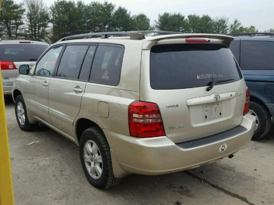 NIGERIA CUSTOM IMPOUNDED 2003 TOYOTA HIGHLANDER FOR SALE CALL MR AZA THOMAS VICTOR  ON +2349031964927