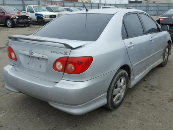 VERY CLEAN NIGERIA IMPOUNDED 2005 TOYOTA COROLLA FOR SALE AT AFFORDABLE LATE CALL ON (+2349031964927)