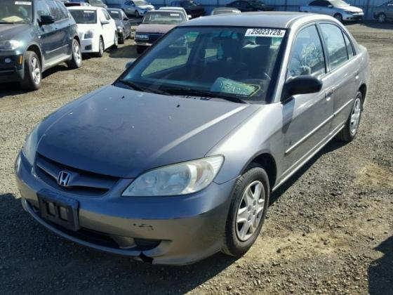 VERY WELL CLEAN 2005 HONDA CIVIC FOR SALE CALL  ON 09031964927