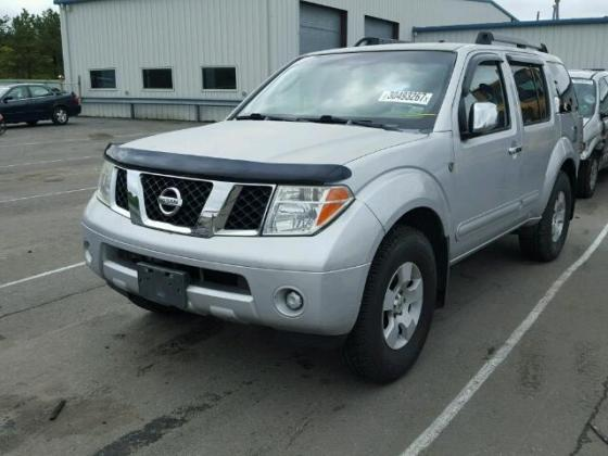VERY GOOD SOUND 2005 NISSAN PATHFINDER FOR SALE CALL 09031964927