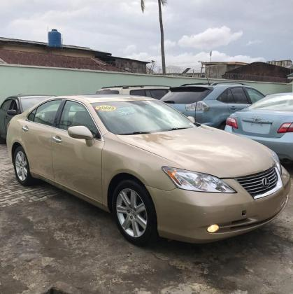 TOKUNBO LEXUS ES330 2009 MODEL CONTACT 07033526206