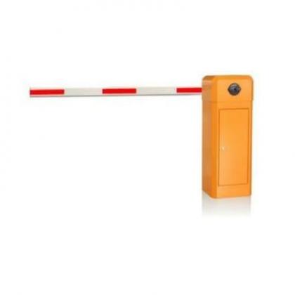 4.5m Yellow Automatic Boom Barrier Car Parking Access Control By Hiphen Solutions Services Ltd.