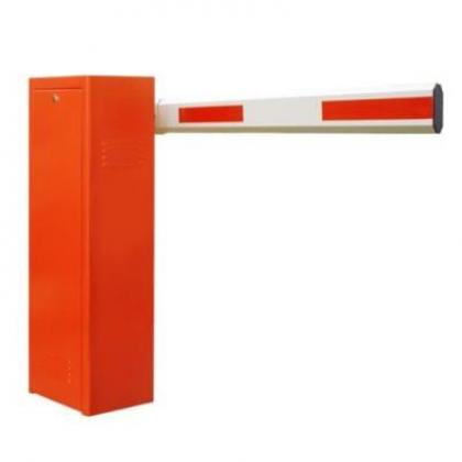 5.5m Orange Automatic Boom Barrier Car Parking Gate Access Control By Hiphen Solutions Services Ltd.