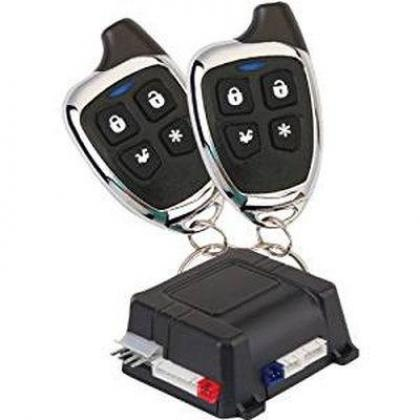Car Alarm and Keyless Entry Security System with Two 4-Button Transmitters By Hiphen Solutions Services Ltd.