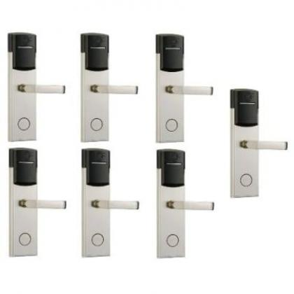 Door Lock With RFID Card Access Control - 304 Stainless - 7 Sets By Hiphen Solutions Services Ltd.
