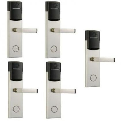 Door Lock With RFID Card Access Control - 304 Stainless - 5 Sets By Hiphen Solutions Services Ltd.