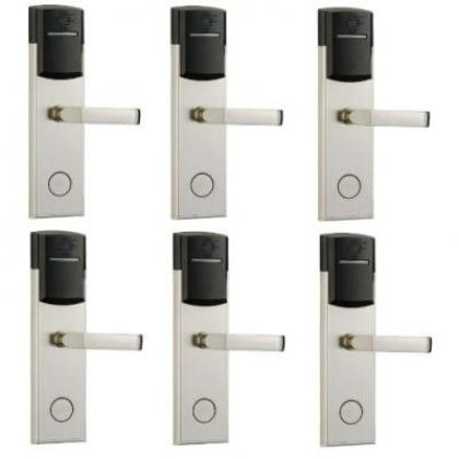 Door Lock With RFID Card Access Control - 304 Stainless - 6 Sets By Hiphen Solutions Services Ltd.