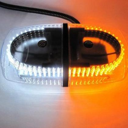 Dual Color Amber & White 240-LED Snow Plow Safety Strobe Light Warning EmeBy Hiphen Solutions Services Ltd.rgency