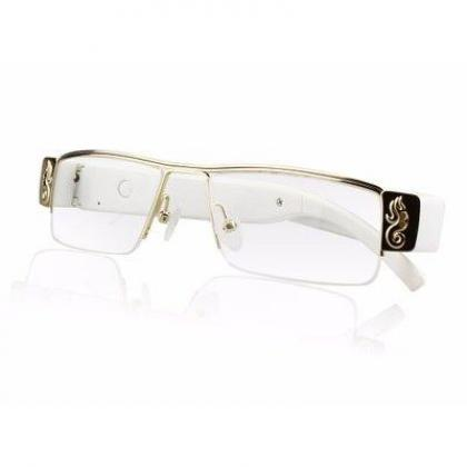 Hidden Camera Eyeglasses - White By Hiphen Solutions Services Ltd.