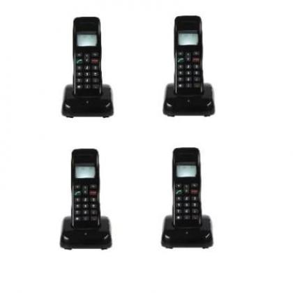 Mobile Wireless Intercom Phone - 4 Extensions Cordless Handsets By Hiphen Solutions Services Ltd.