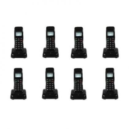 Mobile Wireless Intercom Phone - 8 Extensions Cordless Handsets By Hiphen Solutions Services Ltd.