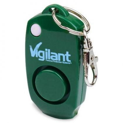 Personal Alarm with Backup Whistle, Hidden Off Button & Bag Clip By Hiphen Solutions Services Ltd.