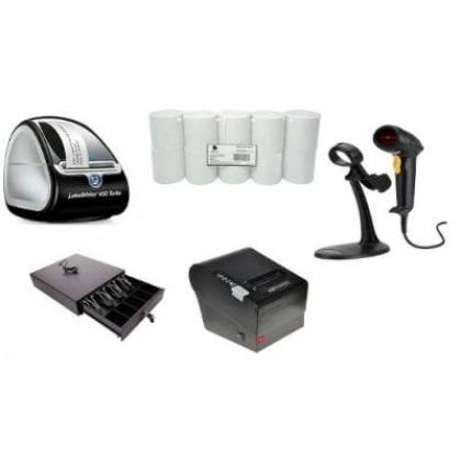 Point of Sale System Hardware Only Kit G – Receipt Printer, Barcode Scanner, Cash Drawer  By Hiphen Solutions Services Ltd.