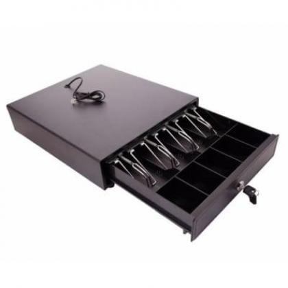 Point of Sale/Register Heavy Duty Rj-12 Key-Lock Cash Drawer with Bill Coin Trays By Hiphen Solutions Services Ltd.