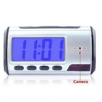 Portable Alarm Clock Spy Camera DVR with Motion Detection By Hiphens Solutions Services Ltd.
