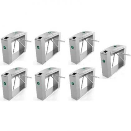 Waist Height Tripod Turnstile Access Control Gate - Set Of 7 By Hiphen Solutions Services Ltd.