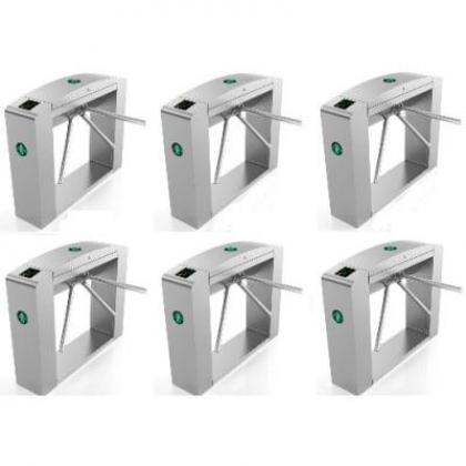 Waist Height Tripod Turnstile Access Control Gate - Set Of 6 By Hiphen Solutions Services Ltd.