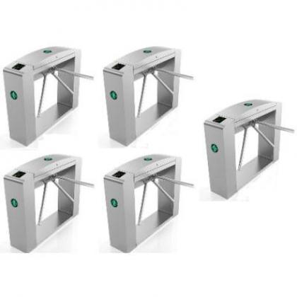 Waist Height Tripod Turnstile Access Control Gate - Set Of 5 By Hiphen Solutions Services Ltd.