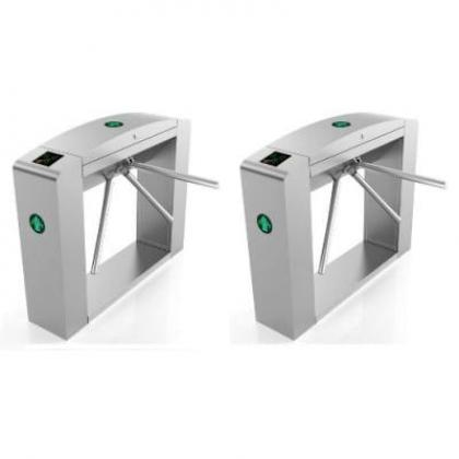 Waist Height Tripod Turnstile Access Control Gate - Set Of 2 By Hiphen Solutions Services Ltd.