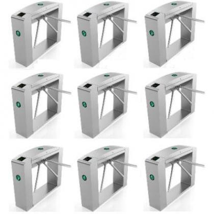 Waist Height Tripod Turnstile Access Control Gate - Set Of 9 By Hiphen Solutions Services Ltd.