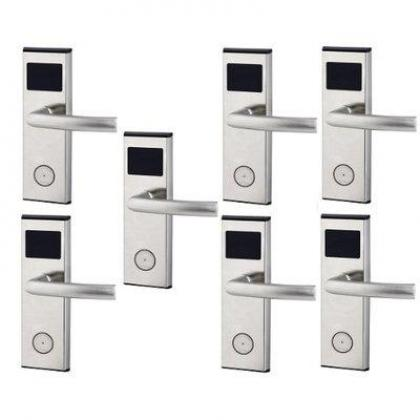 Xeeder Electronic Door Lock With RFID Card Access Control - 7 Set By Hiphen Solutions Services Ltd.