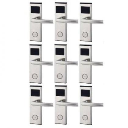 Xeeder Electronic Door Lock With RFID Card Access Control - 9 Set By Hiphen Solutions Services Ltd.