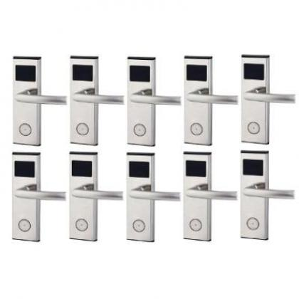Xeeder Electronic Door Lock With RFID Card Access Control - 10 Set By Hiphen Solutions Services Ltd.