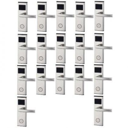 Xeeder Electronic Door Lock With RFID Card Access Control - 17 Set By Hiphen Solutions Services Ltd.