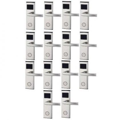 Xeeder Electronic Door Lock With RFID Card Access Control - 14 Sets By Hiphen Solutions Services Ltd.