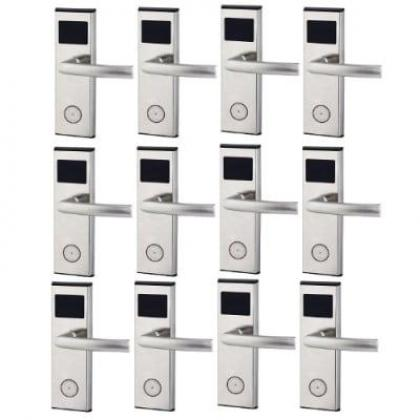 Xeeder Electronic Door Lock With RFID Card Access Control - 12 Sets By Hiphen Solutions Services Ltd.