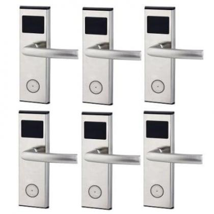 Xeeder Electronic Door Lock With RFID Card Access Control - 6 Sets By Hiphen Solutions Services Ltd.