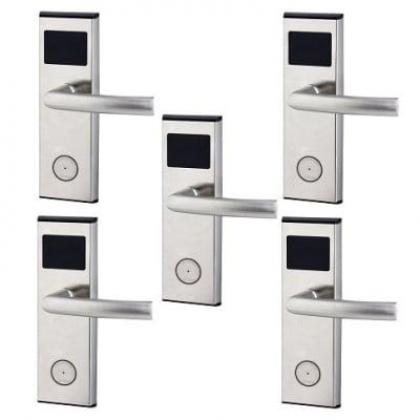 Xeeder Electronic Door Lock With RFID Card Access Control - 5 Sets By Hiphen Solutions Services Ltd.