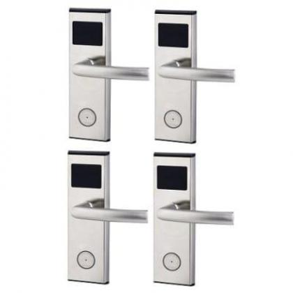Xeeder Electronic Door Lock With RFID Card Access Control - 4 Sets By Hiphen Solutions Services Ltd.